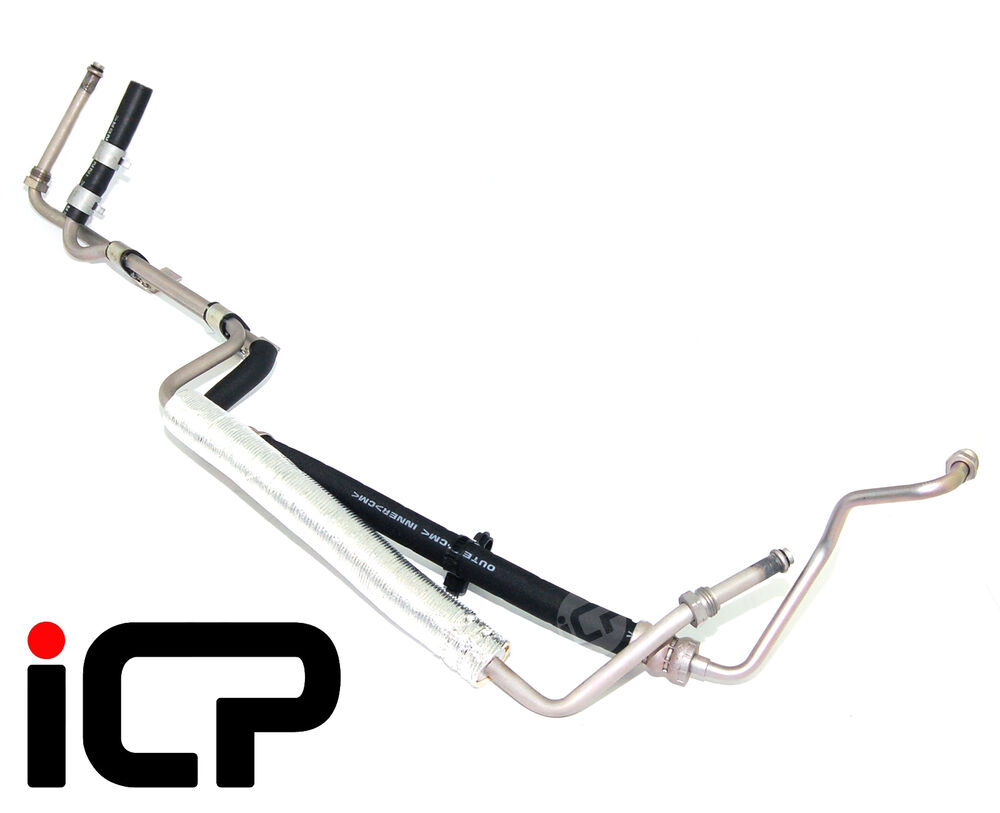 power steering pump to rack hose assembly fits  subaru