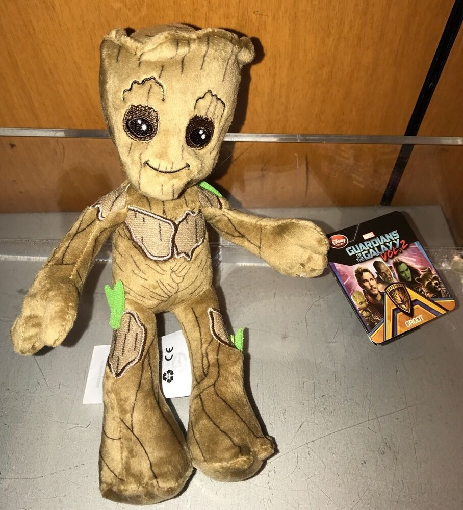 Disney Store Plush Guardians Of The Galaxy Baby Groot Mini