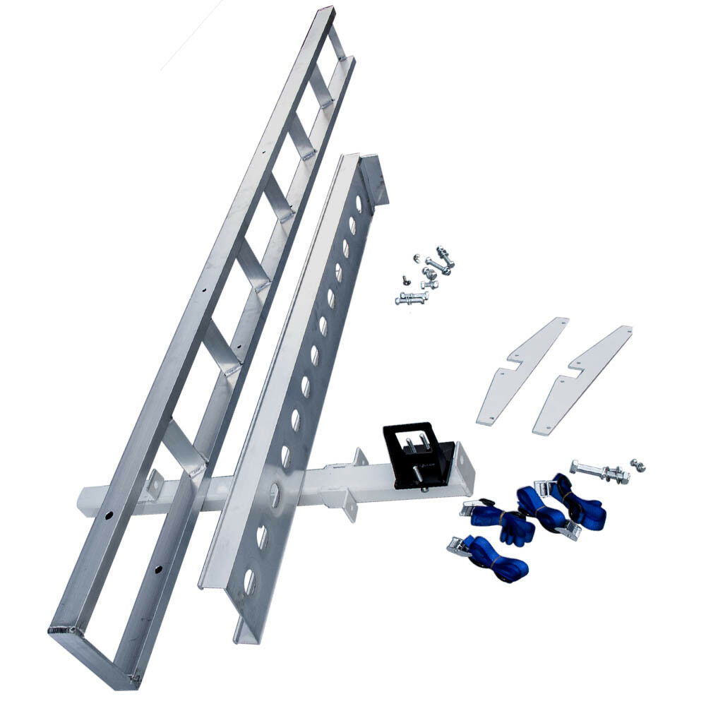Hitch Mount Aluminum Motorcycle Carrier Rack And Ramp Dirt