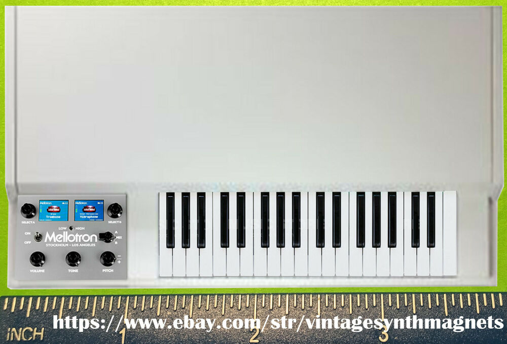 Mellotron M4000D Keyboard Synthesizer Refrigerator Magnet | eBay