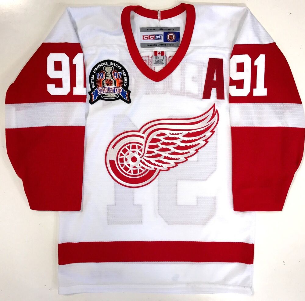 finest selection 95104 f54f8 red wings third jersey