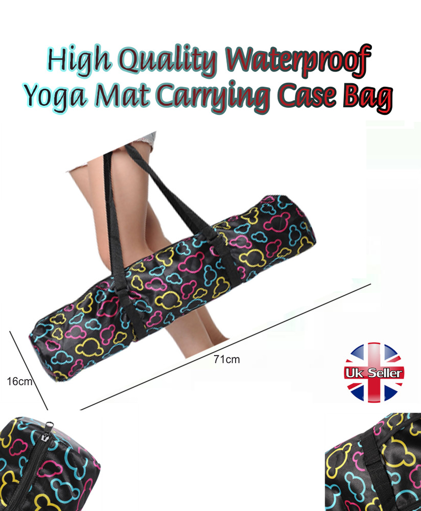 8be4fe89cf Details about New High Quality Waterproof Yoga Mat Carrying Case Bag  Carriers Backpack