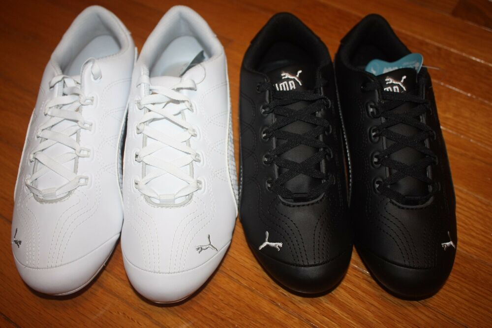 4ca75adc010a2d New In Box Puma Women s Soleil V2 Comfort Fun Synthetic Leather Sneakers  Shoes