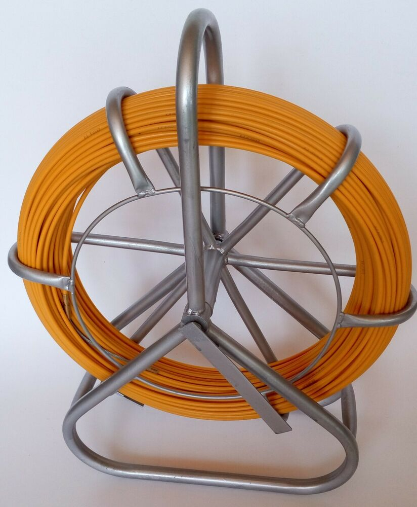 Fish Tape Fiberglass Wire Cable Running Rod Duct Rodder Fishtape ...