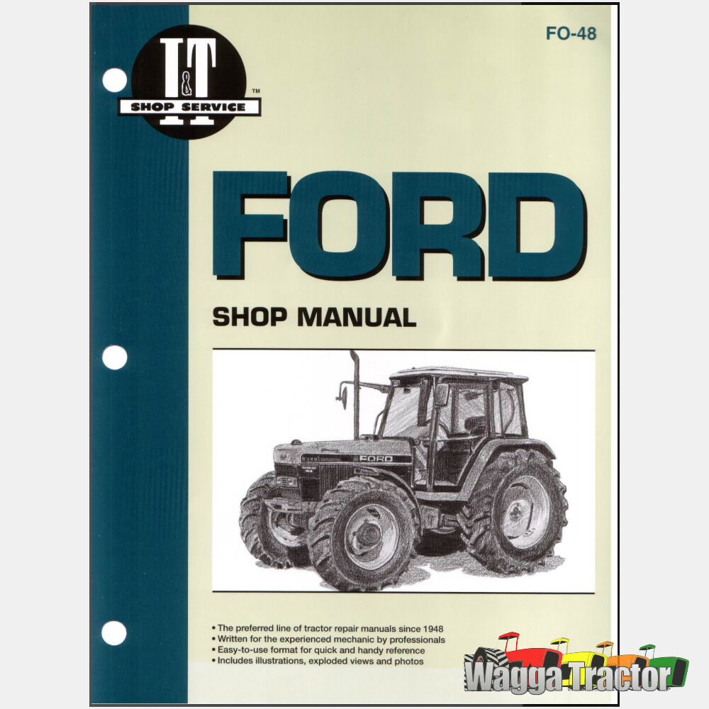 FO48 Workshop Manual Ford New Holland 5640 6640 7740 Tractor & 7840 8240  8340 24185859093 | eBay