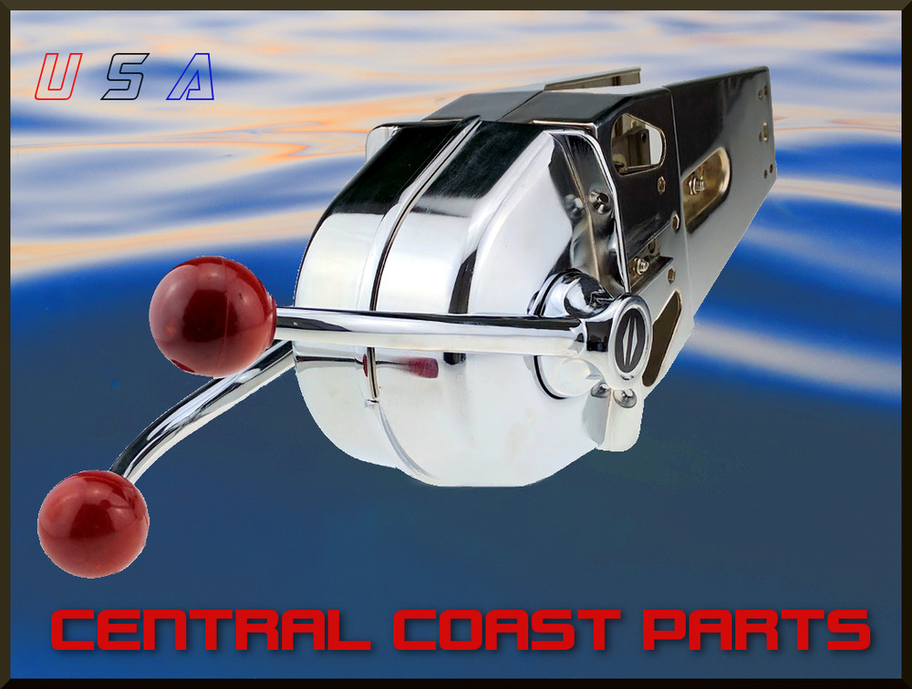 New Replacement Teleflex Morse Mt2 Mt3 Dual Engine Control Marine Boat