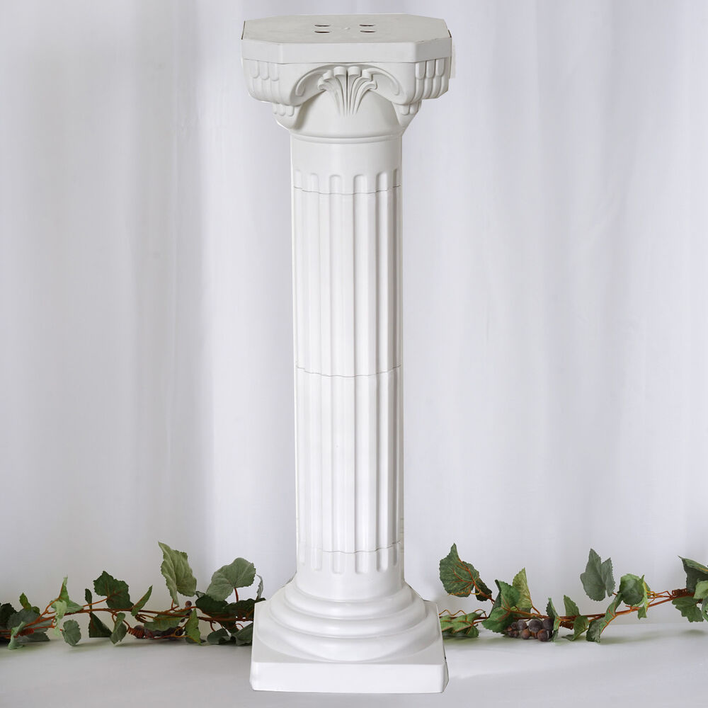 4 Pillars/Set Roman Decorative Columns PVC Pillars 36