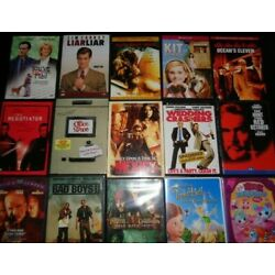 Kyпить Lot of 100 Used ASSORTED DVD Movies - 100 Bulk DVDs - Used DVDs Lot - Wholesale  на еВаy.соm
