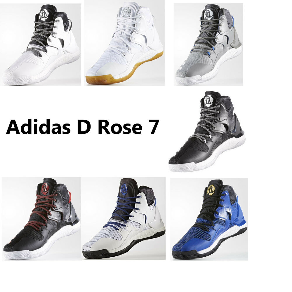 6db17abb Details about Adidas D Rose 7 Boost D Rose VII Mens Basketball Shoes NEW  NBA MVP Sneakers