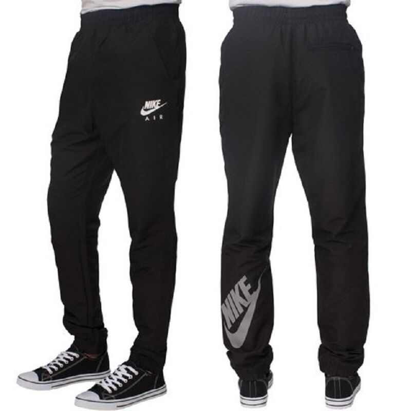8ab53e82cf06 Details about Mens New Nike Skinny Fit Tracksuit Jogging Bottoms Joggers Track  Pants - Black