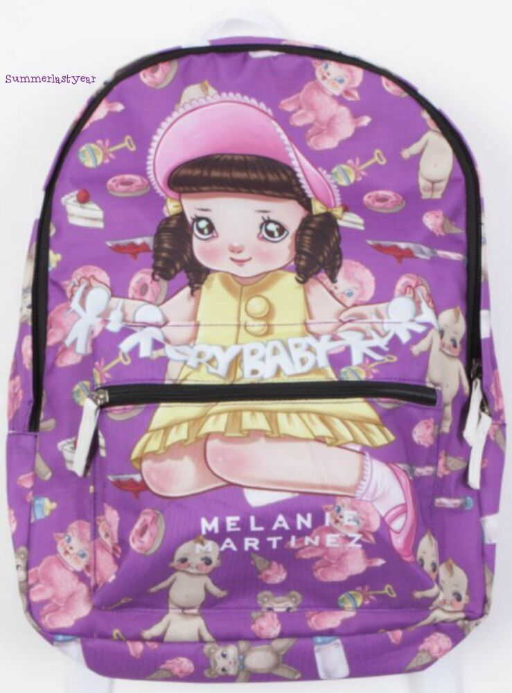 Melanie Martinez Quot Cry Baby Quot Sublimated Backpack Licensed