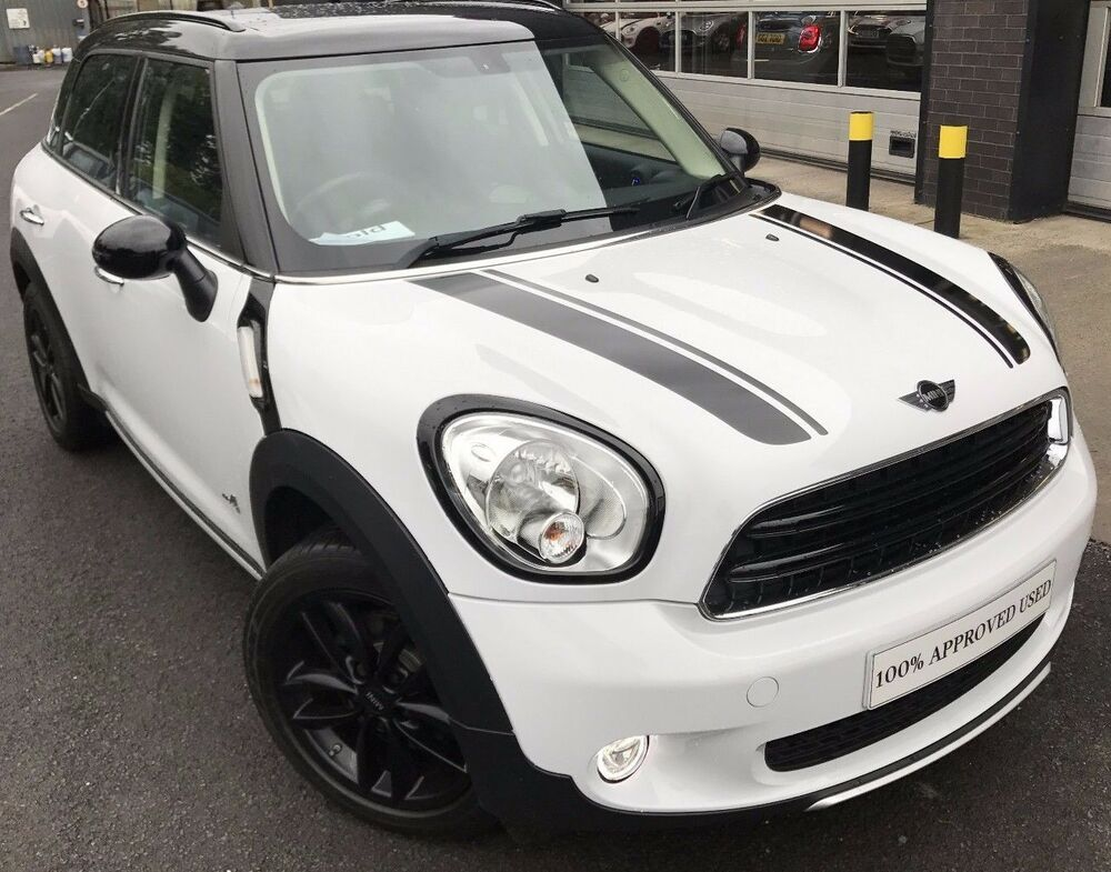 mini countryman cooper bonnet stripes r60 ebay. Black Bedroom Furniture Sets. Home Design Ideas
