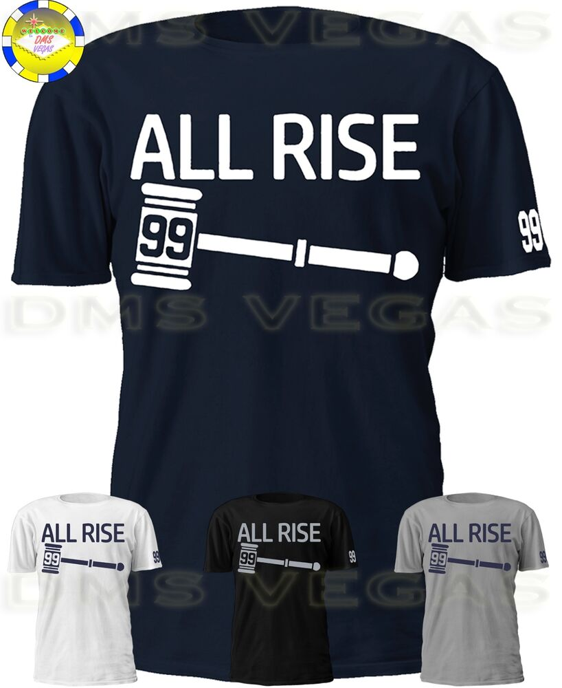 Details about New York Yankees Aaron Judge All Rise Jersey Shirt Judgement  Day Court Men S-5XL 5d94c9513ba