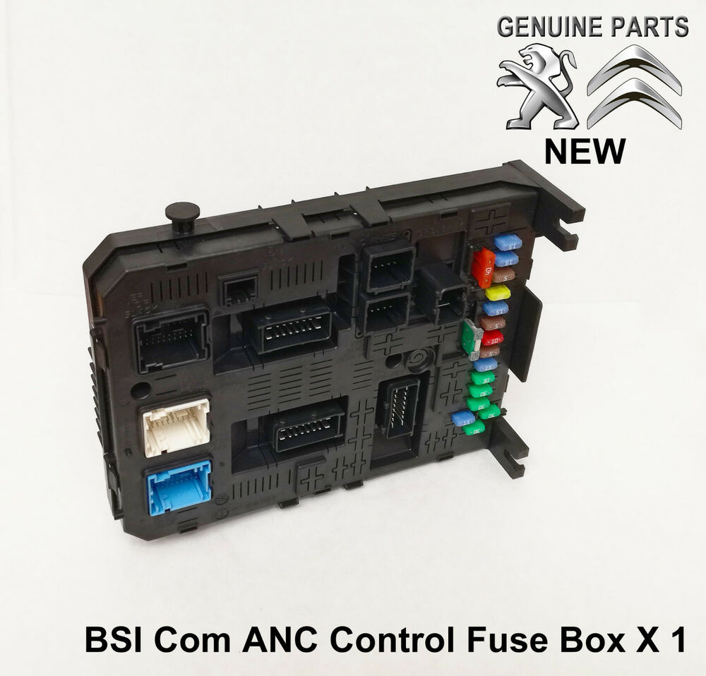 Peugeot Partner Tepee Fuse Box Location Wiring Diagram Libraries Bsi Librarypeugeot 3008 308 407 5008 Rcz Anc