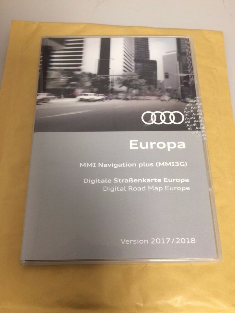 genuine audi mmi 3g hdd 2017 2018 navigation map update ebay. Black Bedroom Furniture Sets. Home Design Ideas