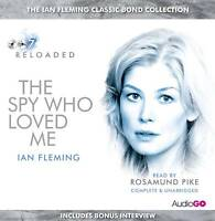 THE SPY WHO LOVED ME - IAN FLEMING - 4 CD AUDIO BOOK - NEW/SEALED - JAMES BOND