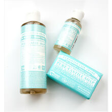 Dr. Bronners Pure Unscented  Baby Castile Soap Mixes Well with Essential Oils