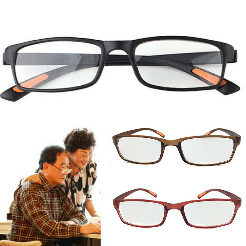 a11069353c12 Details about Women Men TR90 Flexible Reading Glasses Readers Strength  Presbyopic Glasses New