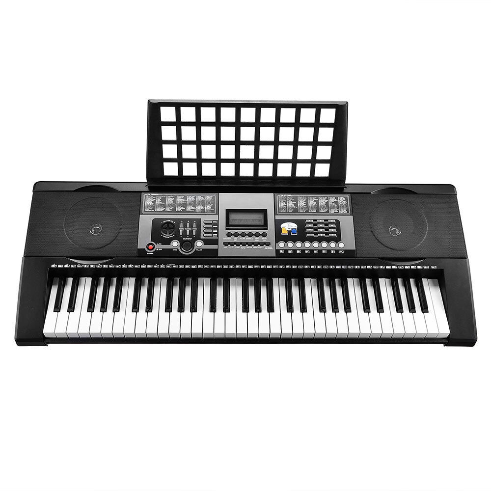 61 keys electronic keyboard electric piano mk 922 digital music lcd full size ebay. Black Bedroom Furniture Sets. Home Design Ideas