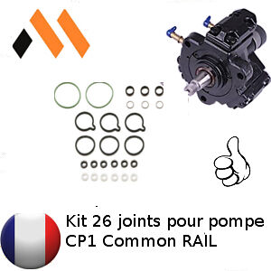 kit 26 joints reparation fuite pompe a injection common rail bosch cp1 ebay. Black Bedroom Furniture Sets. Home Design Ideas