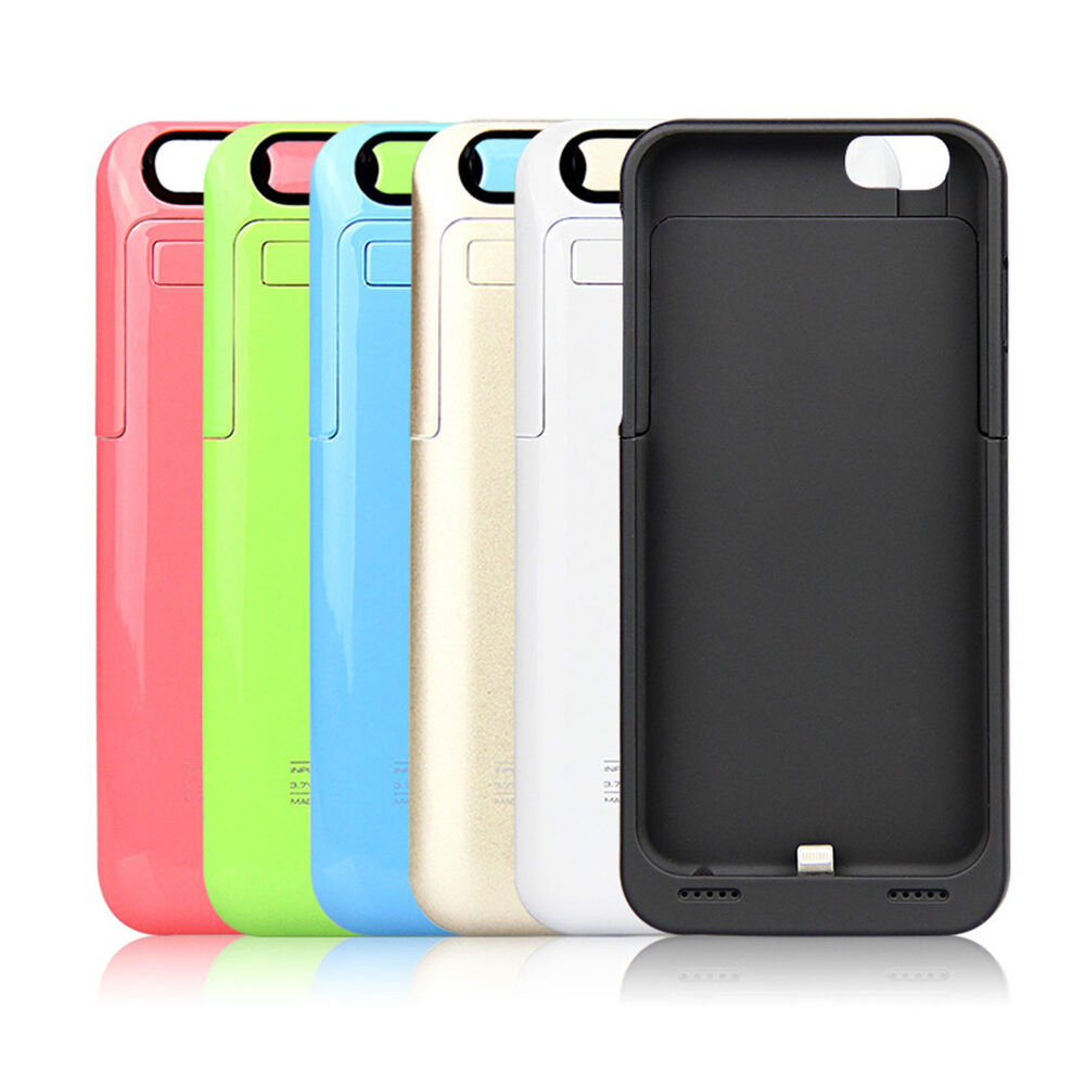 iphone 5 case charger 2200mah portable charger charging external battery 14492