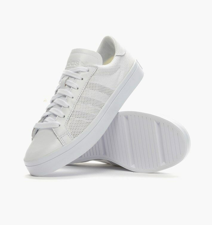 85a738c20e43 Details about adidas Courtvantage Mens Trainers White  S76659