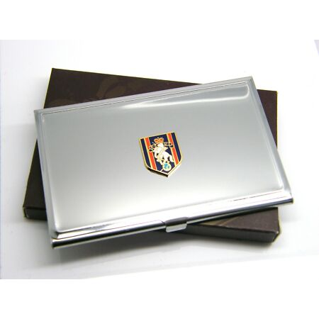 img-THE REME ELECTRICAL MECHANICAL ARMY BADGE MILITARY BUSINESS CREDIT CARD CASE