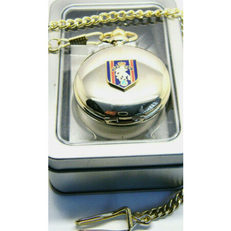 img-THE REME BADGE CRESTED ARMY MILITARY POCKET WATCH CHAIN BOXED GIFT ENGINEERS