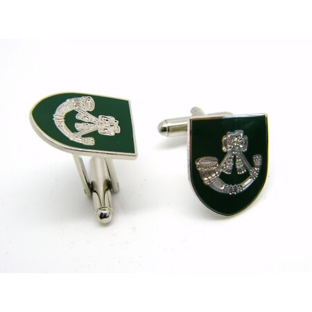 img-THE LIGHT INFANTRY BADGE CUFFLINKS MILITARY GIFT IN BOX