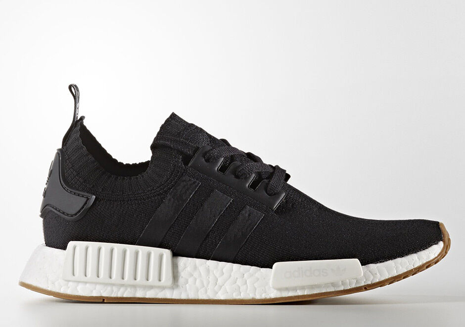 139b048dd Details about Adidas NMD R1 PK Primeknit Black Gum Size 7.5. BY1887 yeezy ultra  boost