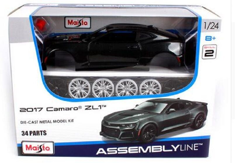 Maisto 124 2017 Chevrolet Camaro ZL1 Assembly DIY Car