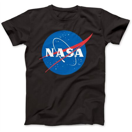 img-Logo Astronaut T-Shirt 100% Premium Cotton Space Station Sputnik Apollo