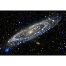 NASA Andromeda Galaxy Space Hi Gloss Poster Fine Art Print