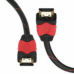 NEW Premium HDMI Cable v1.4 Gold High Speed HDTV Ultra-HD 2160p 4K 3D 3FT-30FT