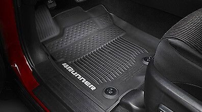 All-Weather Floor Liners - Black 2016-2018 4runner