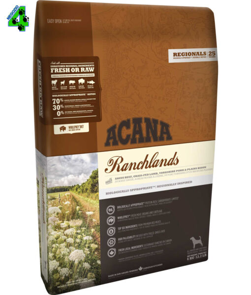 Acana Ranchlands Dog 11,4 Kg Per Cane