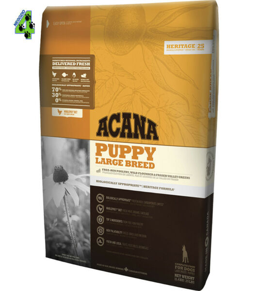 Acana Puppy Large Breed 11,4 kg Per Cane