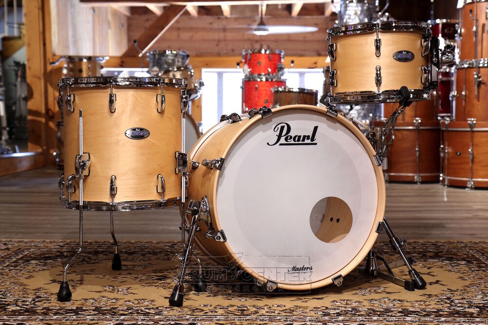 Pearl Masters Maple Complete 3pc Drum Set 20/12/14 Matte ...