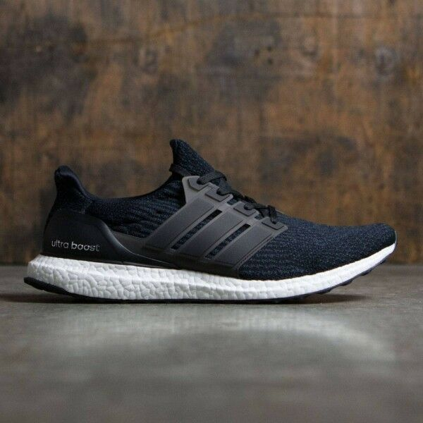 7385f3159cba Details about Adidas Ultra Boost 3.0 Black White Size 9. BA8842 NMD PK Yeezy