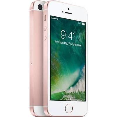 Apple Iphone Se (32gb,rose Gold) 12 Mp | 4g Volte | Fingerprint Model Mp852hn/a