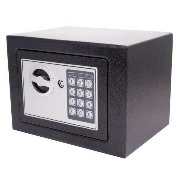 Durable Digital Electronic Safe Box Number Lock Home Office Hotel Gun Black NEW