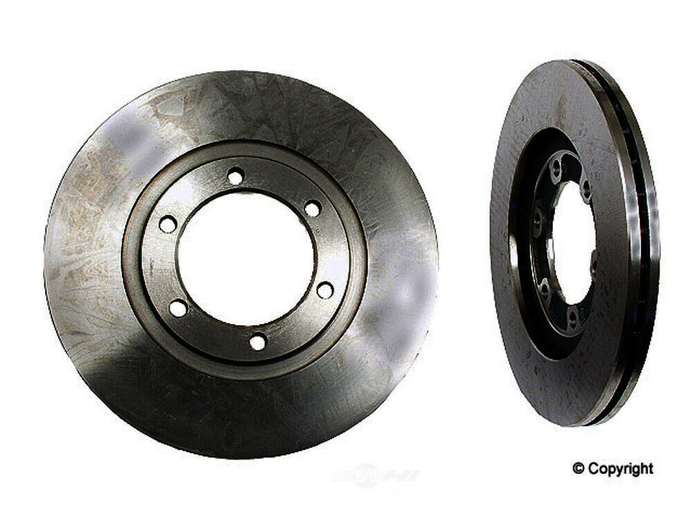 Disc Brake Rotor-Original Performance Front WD EXPRESS fits 87-93 Mazda B2200