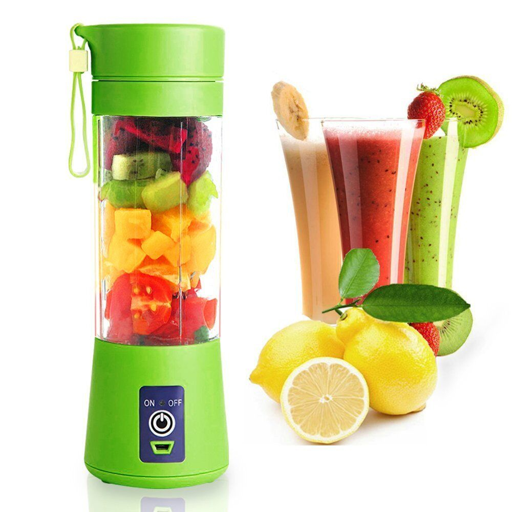 Portable Juicer Rechargeable Battery Portable Radio New Zealand Best Portable Air Compressor For Jeep Wrangler Portable Electric Air Compressor For Car Tires: Portable Blender USB Juicer Cup Fruit Mixing Machine