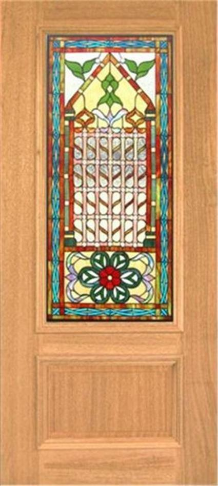 Mahogany Front Door With Glass Details about HAND MADE LEADED STAINED GLASS MAHOGANY ENTRY DOOR - JHL2147  - 99