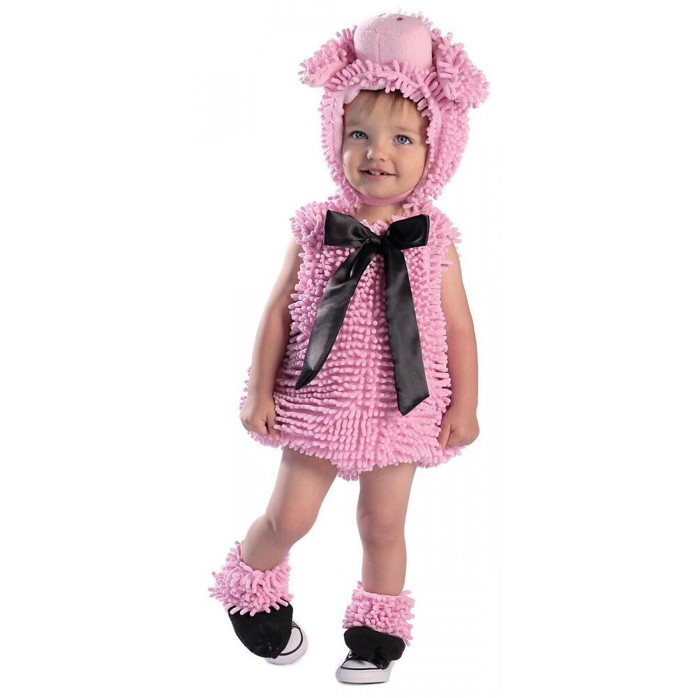 Details about Pink Pig Costume Baby Toddler Girls Halloween Fancy Dress 392e416ef8f4
