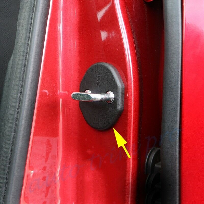 Check Arm Protector Cover Fit For Mazda 2 3 CX-5 4x Door Striker Cover Lock