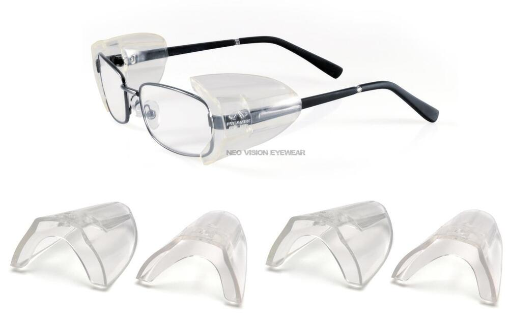 safety glasses side shields 3 pair pyramex ss100 clear side shield for safety 10123