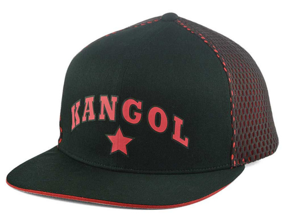 623b309e0630d Details about New Kangol Star Links Strapback Hat Cap New Men Black Red  Supreme Ll cool J Hype