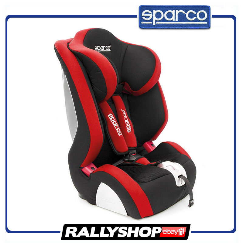 Sparco Child Seat F1000 K Red Ece Homologation Safety Auto Car Baby