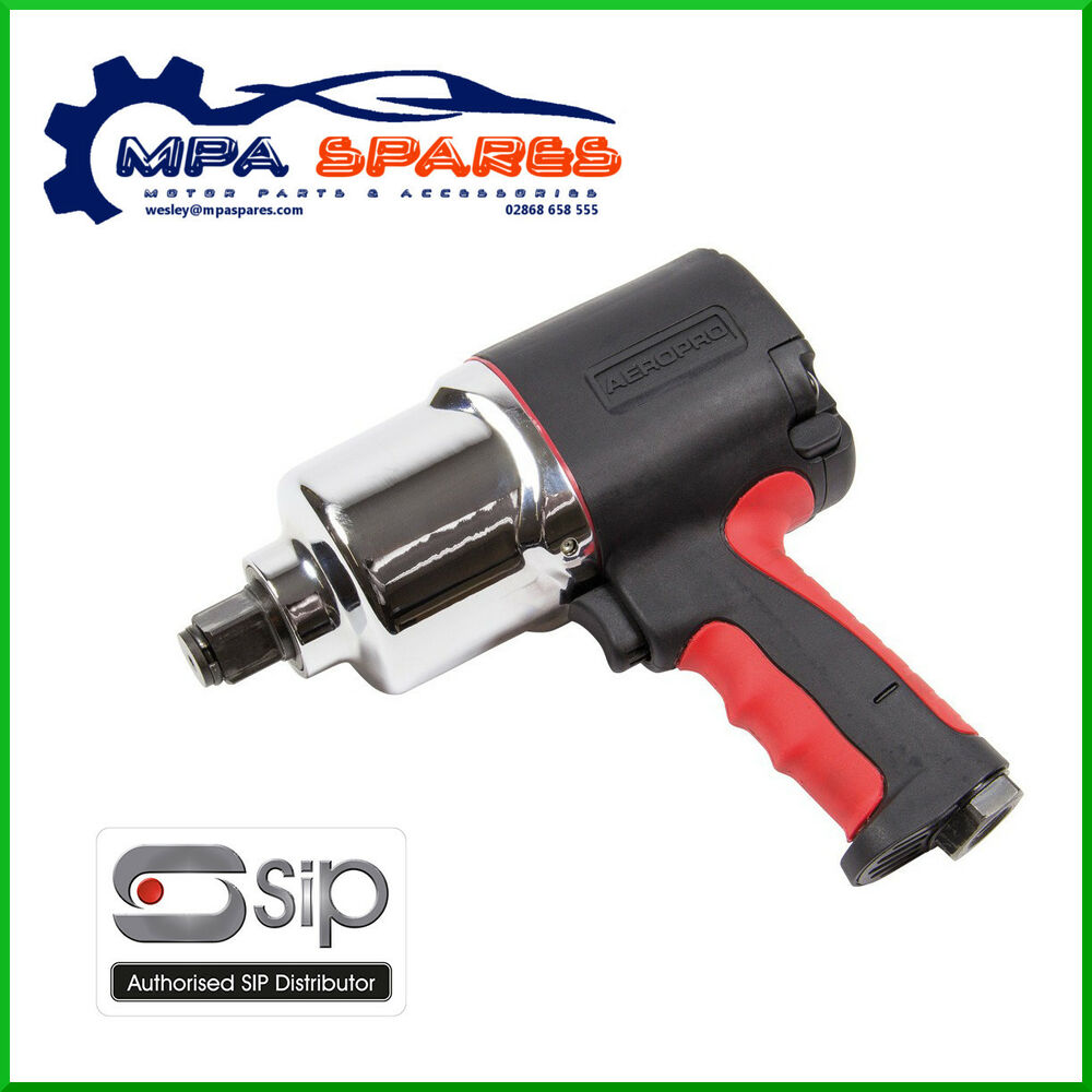 Details About Sip 07202 3 4 Air Impact Wrench Twin Hammer 9 5cfm 8 Bsp